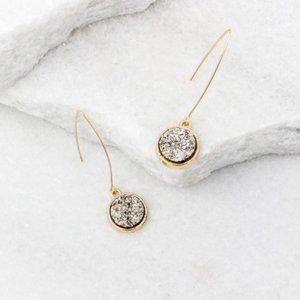 'Coco' Teardrop Dangle Earrings